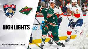 NHL Highlights | Panthers @ Wild 01/20/20 [Video]