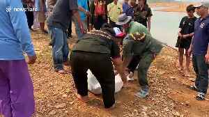 Five dead after boat capsizes in reservoir in northern Thailand [Video]