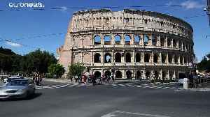 All roads lead to Rome - and so does all traffic