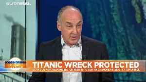 Titanic shipwreck to be 'better protected' under 'momentous' UK-US agreement [Video]