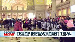 Trump impeachment: US Senate trial starts in Washington