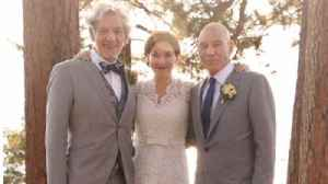 Patrick Stewart touched that his friend  Ian McKellen has only officiated his wedding [Video]