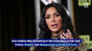 Kim Kardashian Has Wanted a Law Career for Years [Video]