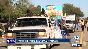 MLK Day parade held in Fort Pierce [Video]