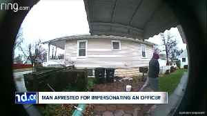 Akron man arrested for allegedly impersonating officer to steal money from elderly man [Video]