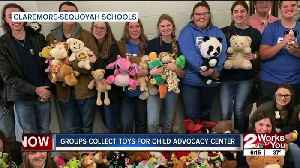Claremore-Sequoyah students collect toys for child advocacy center [Video]