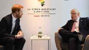 Prince Harry And Boris Johnson Meet African Leaders In London [Video]