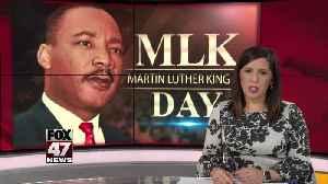 Honoring MLK Jr. through service [Video]