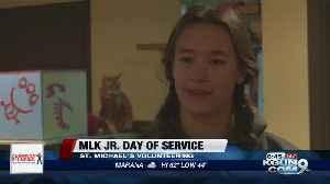 St. Michael School's MLK Jr. service day [Video]