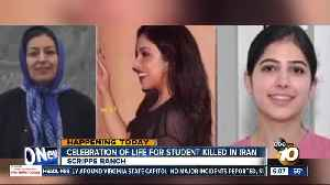 Student killed in Iran to be honored in Celebration of Life [Video]
