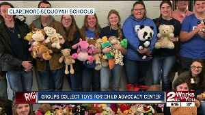 Claremore Sequoyah students collect toys for child advocacy center [Video]