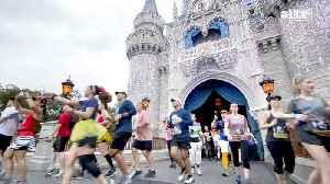 Did You Know You Can Run a Marathon Through Disney World? [Video]