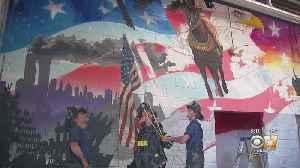 New Mural In Plano Honors Heroes Of 9/11 [Video]