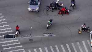 WEB EXTRA: Riders Take Over South Florida Streets [Video]
