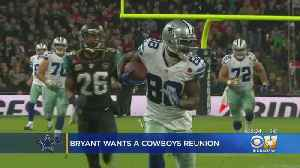 News video: Dez Bryant Said On Twitter He'd Like To Play For Dallas Cowboys Next Season