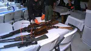 Gun buyback program on Martin Luther King Jr. Day sees high demand, runs out of money [Video]