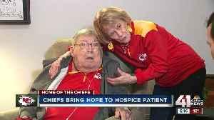 Chiefs Super Bowl run brings joy for fan facing terminal illness [Video]