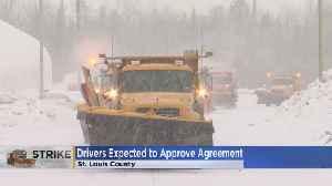 St. Louis Co. Plow Drivers End Strike [Video]