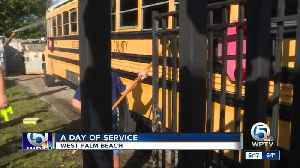 Jewish Federation of Palm Beach County spends MLK Day volunteering [Video]