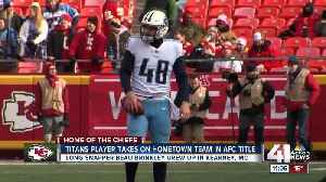 Kearney native heads to Arrowhead as a member of the Titans [Video]
