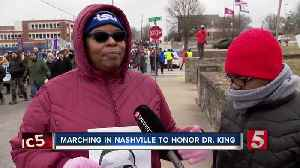 Middle Tennessee honors the legacy of Dr. Martin Luther King Jr. [Video]