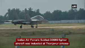 IAF inducts BrahMos-armed Sukhoi-30MKI fighter squadron at Tamil Nadu Thanjavur [Video]