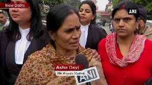 Tactic to delay hanging rejected Nirbhaya's mother after convict petiton dismissed [Video]