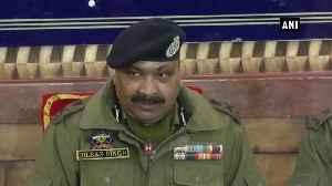 Top Hizbul commander neutralised in Shopian DGP Dilbag Singh [Video]