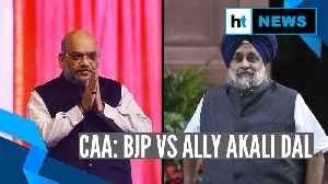 Delhi polls: BJP, ally part ways as Akali Dal refuses to change stand on CAA [Video]