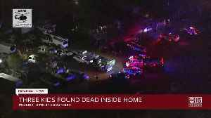 News video: Three young children found dead at Phoenix home