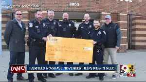 Why Fairfield officers' No-Shave November lasted three months [Video]