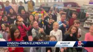 Wake Up Call from Vinson-Owen Elementary [Video]