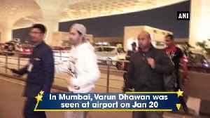 Street Dancer 3D Varun Shraddha seen at Mumbai airport [Video]