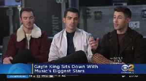 Gayle King Chats With Jonas Brothers [Video]