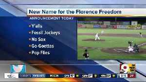 Florence Freedom to announce new name Tuesday [Video]