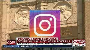 Security on high alert today at Will Rogers High after social media threat [Video]