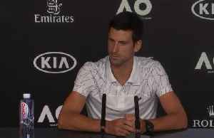 Djokovic crosses fingers for clean air at Melbourne Park