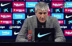 Setien gets first win with Barca after late Messi goal [Video]