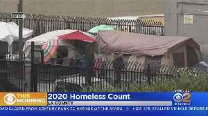 2020 Homeless Count Begins In LA County [Video]