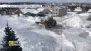 If you think Newfoundland has had a lot of snow, you should see this Canadian city [Video]