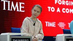 Greta Thunberg at Davos 2020: 'The world, in case you haven't noticed, is currently on fire' [Video]