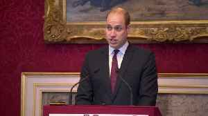 Prince William Speaks At United For Wildlife Event [Video]
