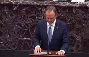 Schiff, Trump's lawyer make initial cases to Senate [Video]