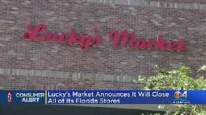 Lucky's Market Shuttering All South Florida Stores [Video]