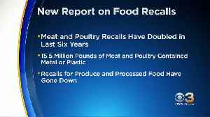Annual Food Safety Report Looks At Food Recalls Over Past Decade [Video]