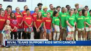 Rival schools come together to help cancer patients [Video]