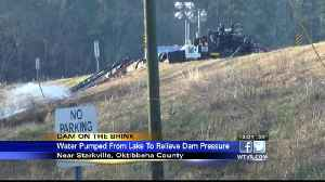 Pumping continues at Oktibbeha County Lake, officials continue to monitor dam [Video]