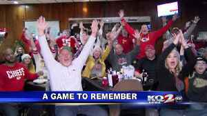 CHIEFS KINGDOM CELEBRATES AS TEAM HEADS TO THE SUPER BOWL [Video]