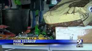 Volunteers clean up Roseburg parks for MLK day [Video]