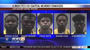 Five indicted on capital murder charges in Moss Point Super Bowl shooting [Video]